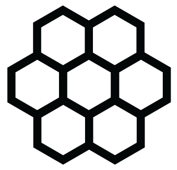 large-honeycomb-flower-symbol-black